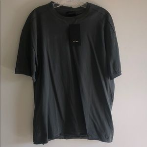 Zara Men's Medium Grey T Shirt